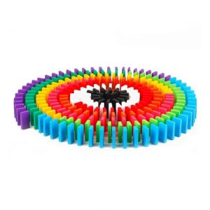 Colorful dominos.