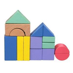 Geometric building blocks starter set.