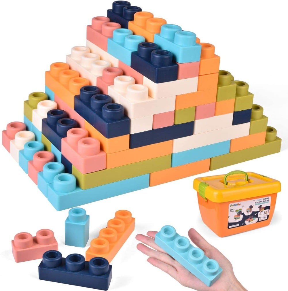 Fun Little Toy brand plastic building blocks.