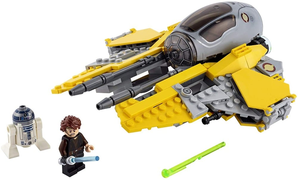 Lego Brand Starwars plastic spaceship building blocks set.
