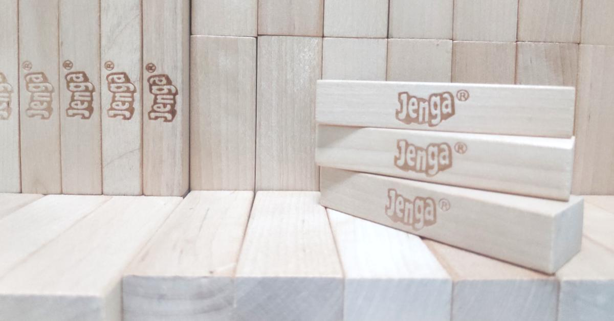 What wood are Jenga blocks made of?
