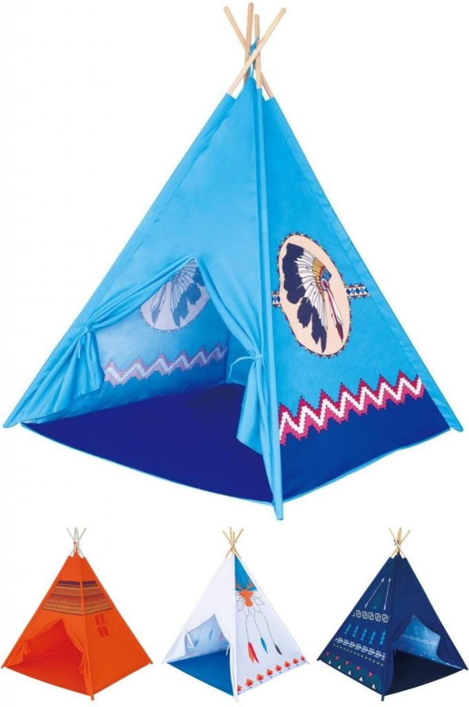 Native American Printed Teepee Payhouses By Poco Divo Brand