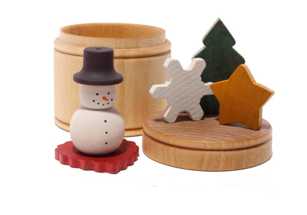 Cats Crafts Toys Brand Winter In A Box Wooden Montessori Play Set