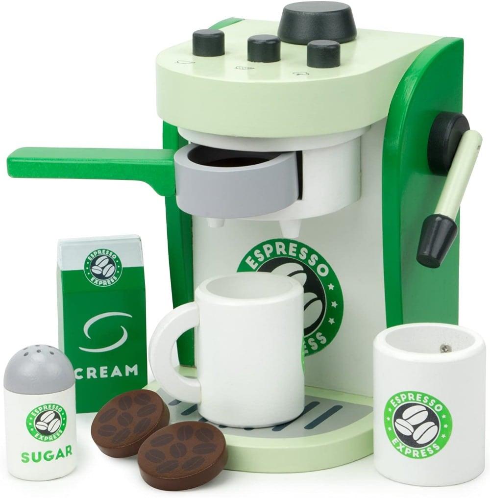 Imagination Generation Espresso Express Wooden Espresso Machine Playset