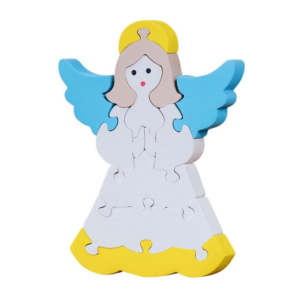Oxemize Brand Toddlers Wood Christmas Angel Puzzle