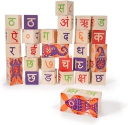 Uncle Goose Hindi Foreign Language Blocks