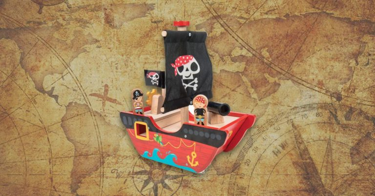 Best Wooden Pirate Ship Toys For Kids And Toddlers