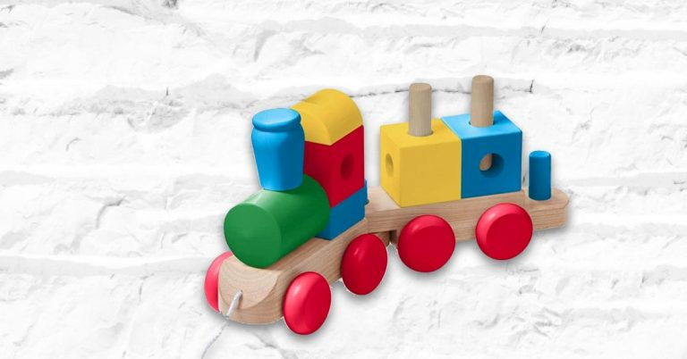 Best Wooden Train Sets For Toddlers