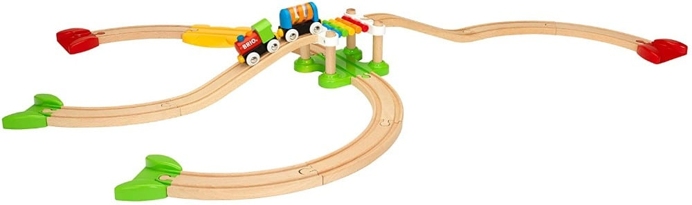 Brio My First Railway Wooden Toy Train Set For 18 Month Old Toddlers