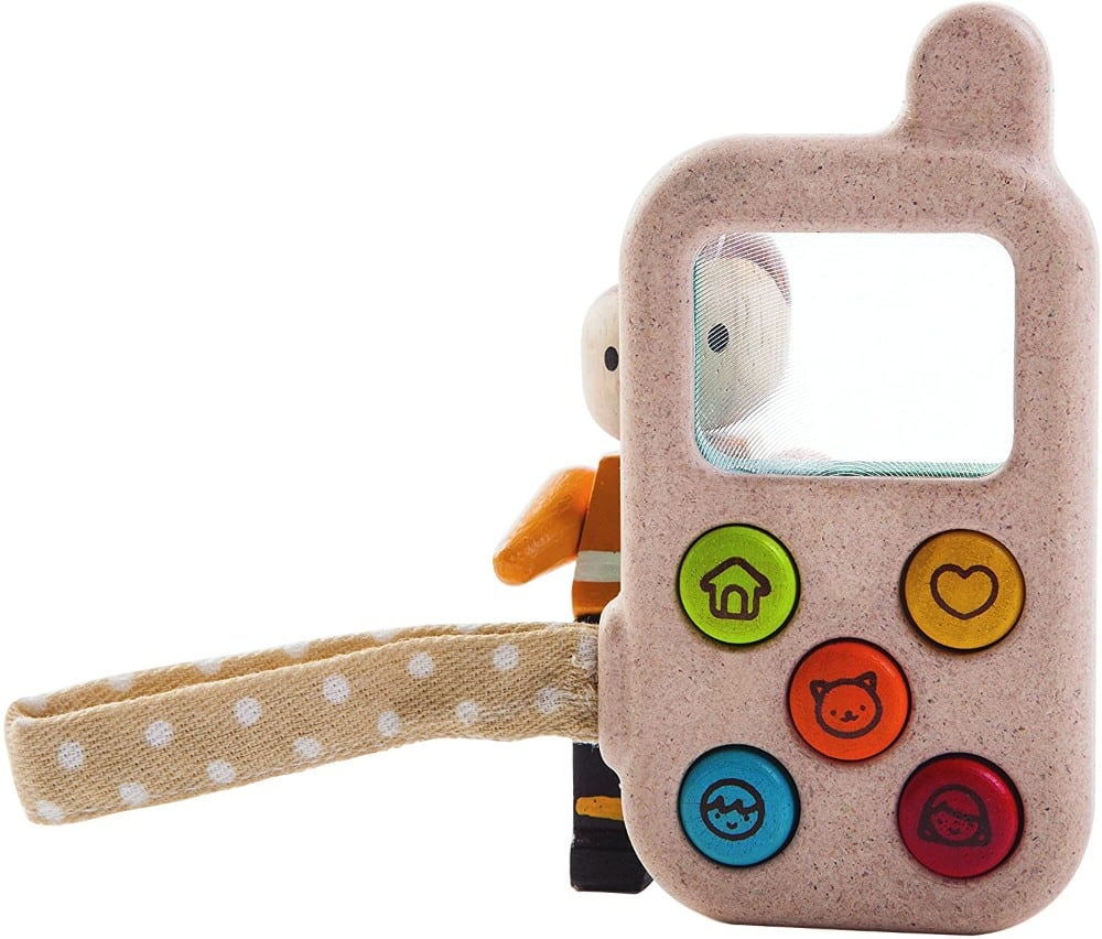 Plan Toys Eco Friendly Wooden Cell Phone Toy