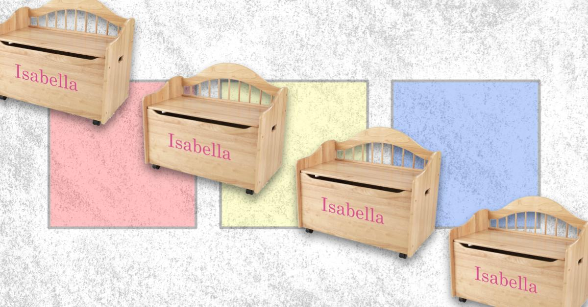 Best Personalized Wooden Toy Boxes