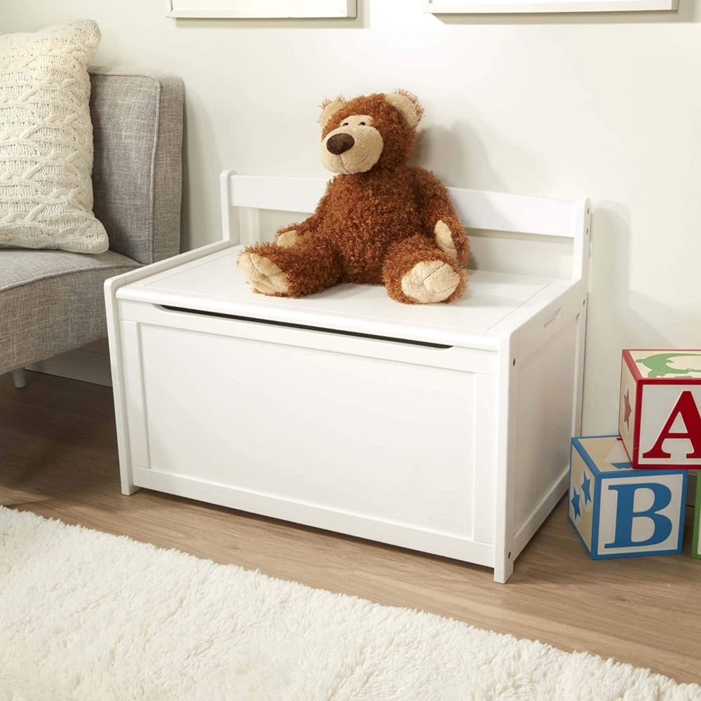 Melissa And Doug Wooden Toy Chest For Diy Personalization