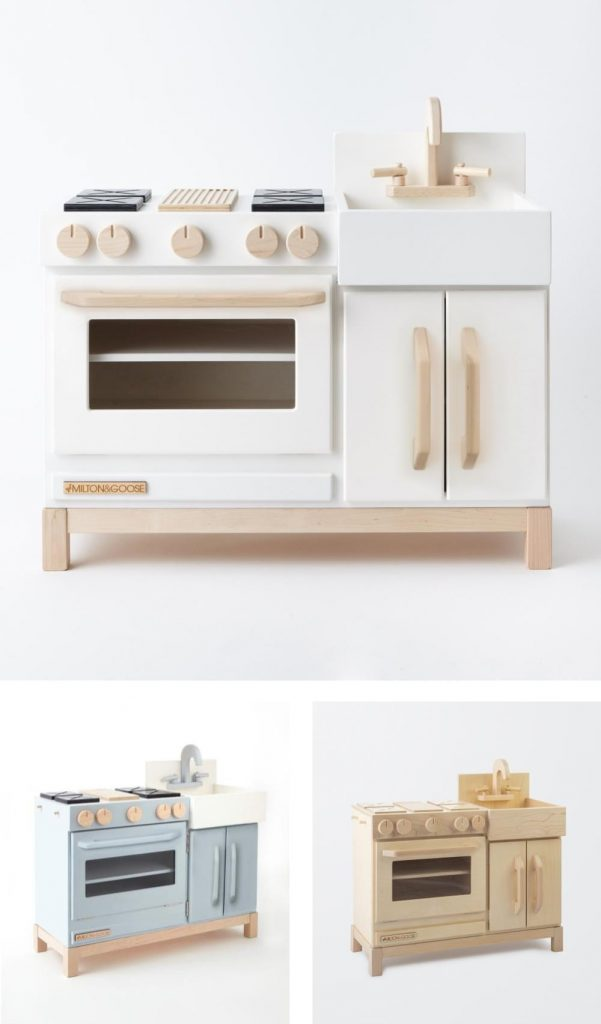 Milton And Goose Made In Pennsylvania Best Designed Play Kitchen For Toddlers