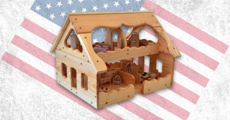 Best Handmade Wooden Dollhouses Made In Usa