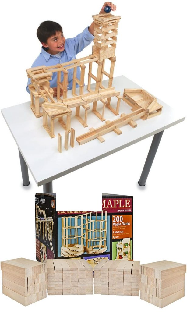 Keva Best Maple Building Planks Made In America