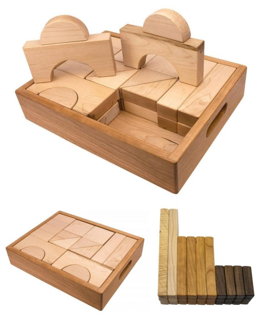 Palumba Best American Made Maple Unit Blocks