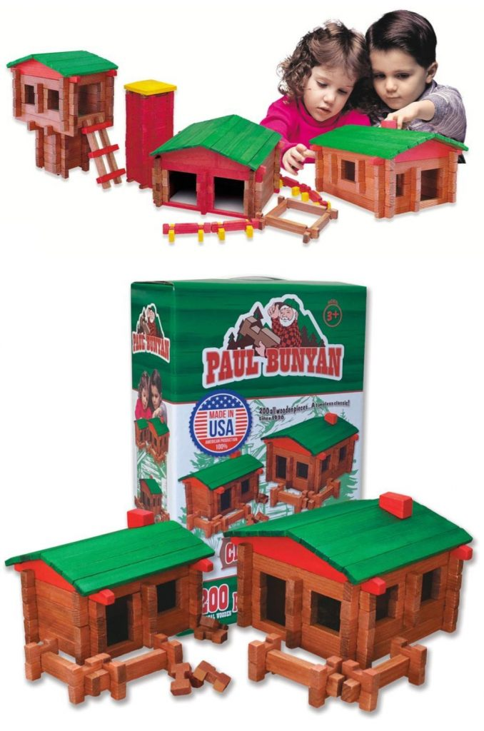 Roy Toy Best Classic Building Logs Made In America
