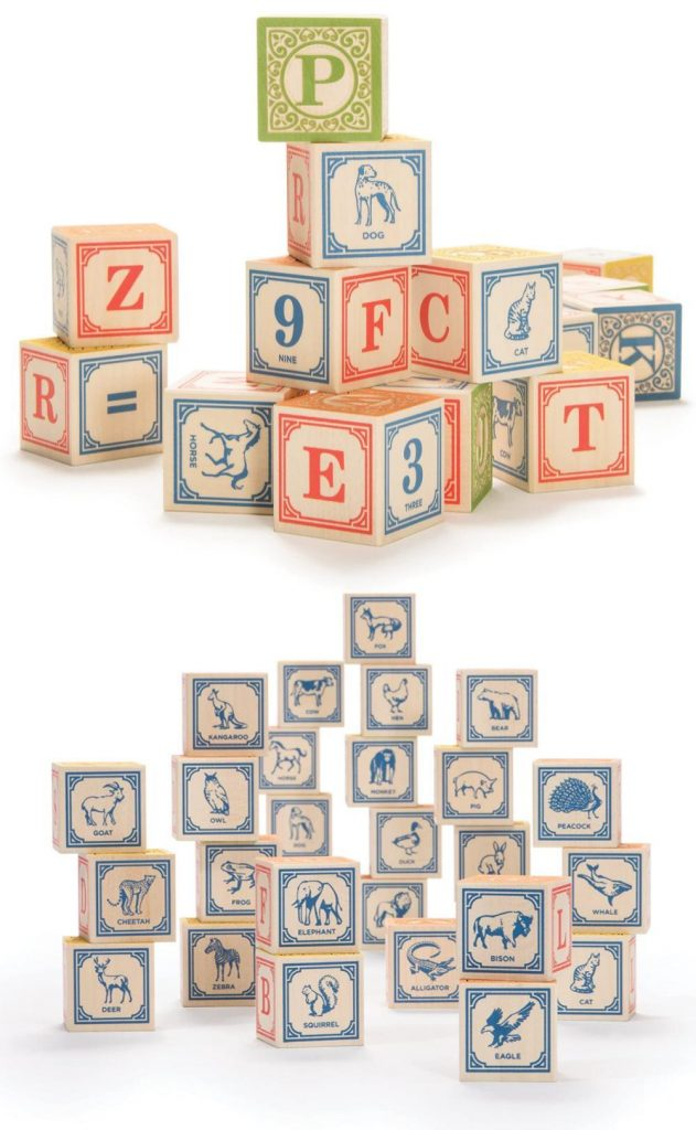Uncle Goose Best Abc Blocks Made In Usa