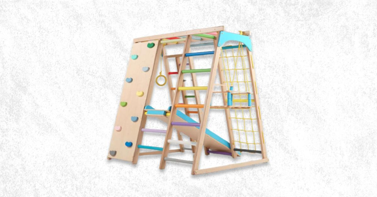 Best Indoor Wooden Climbing Toys For Toddlers