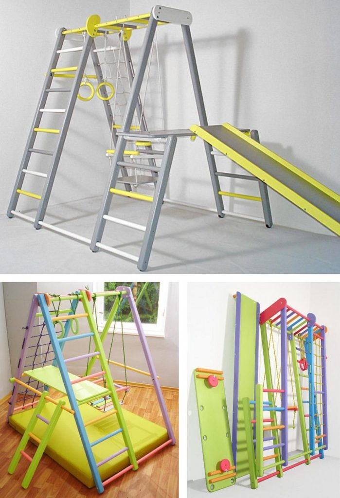 Clever Woody Wooden Foldable Playground For Kids