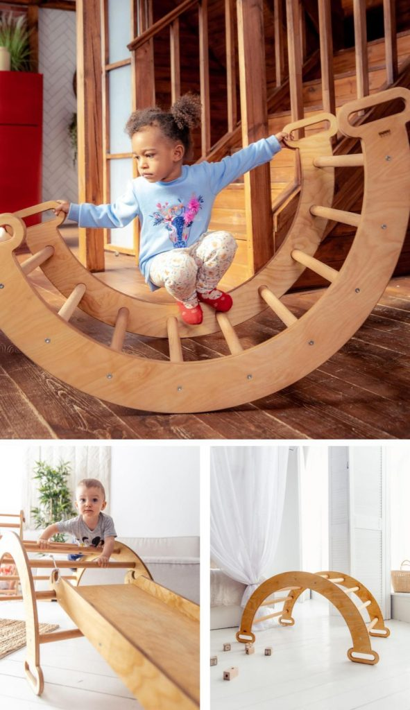 Goodevas Simple And Affordable Pikler Climbing Arch