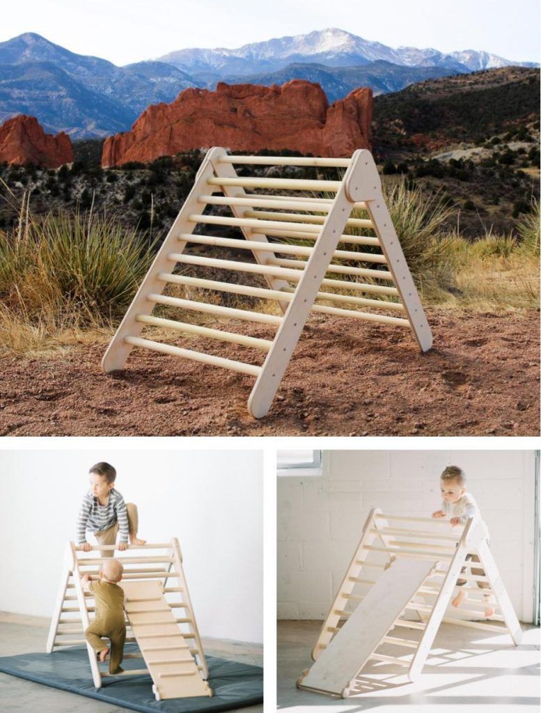Playwilder Outdoor Pikler Triangle Made In Usa