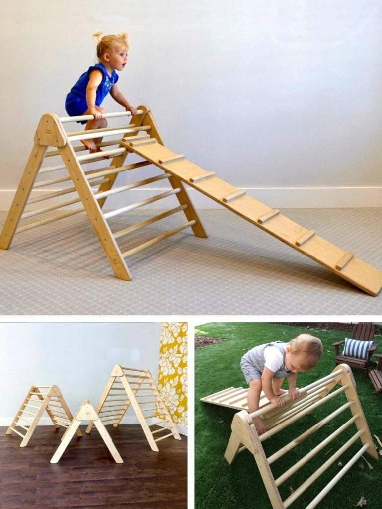 Rad Childrens Furniture Pikler Triangle Made In Usa
