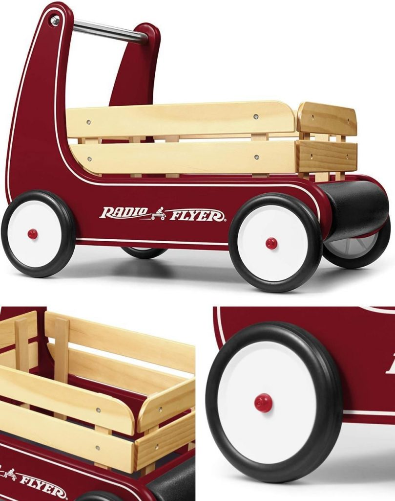 Radio Flyer Traditional Walker Wagon 1 To 4 Years Toddler