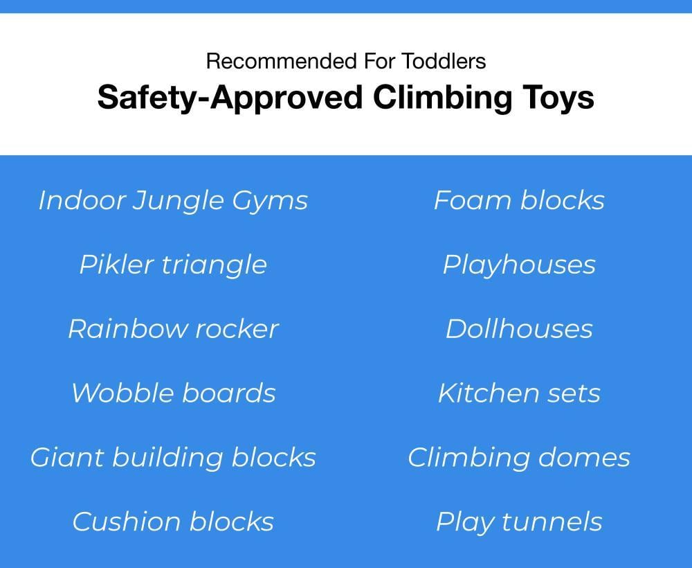 Safety Approved Toddler Climbing Toys