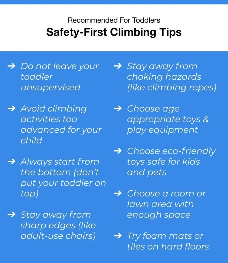 Safety First Toddler Climbing Tips