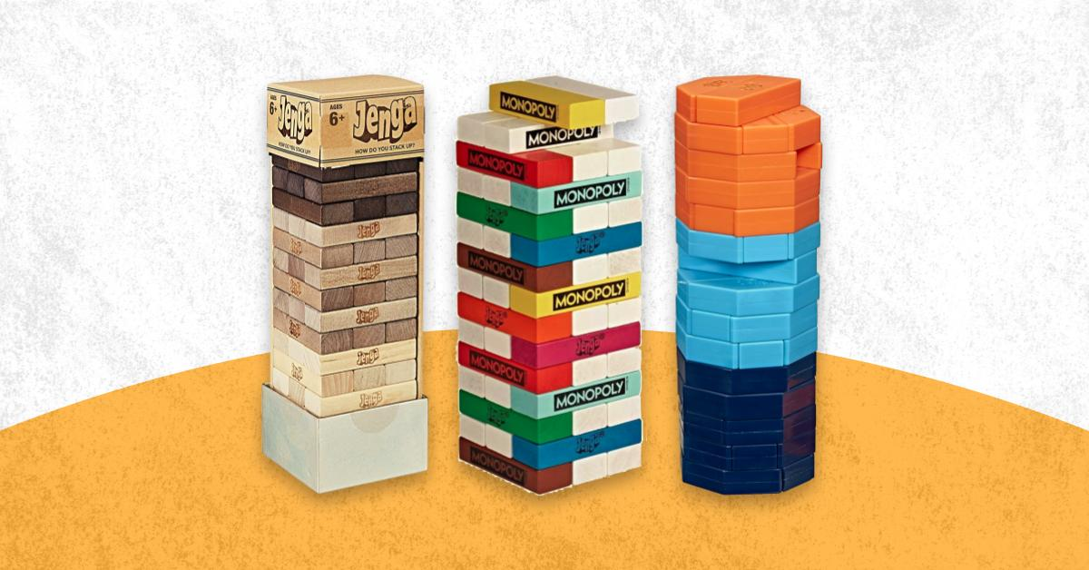 Crazy Jenga Variations Special Edition