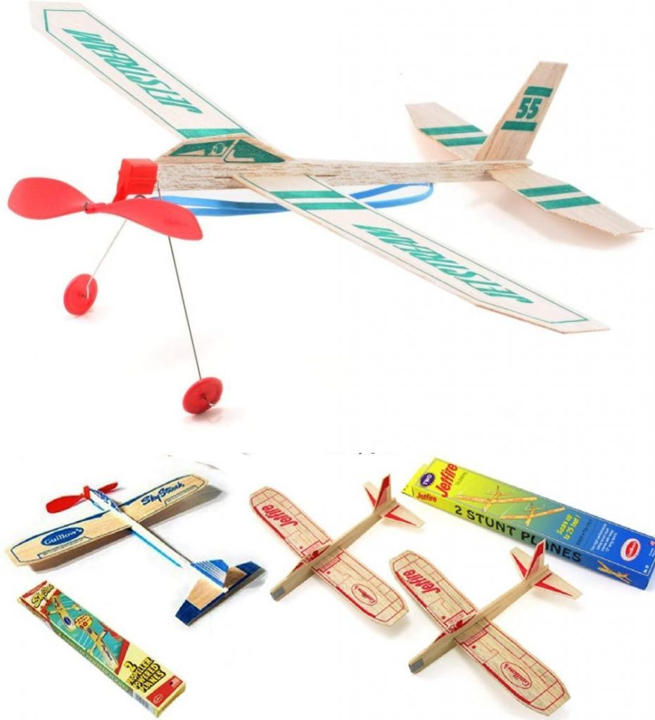 Guillows Balsa Wood Glider Airplane Toy That Flies Outdoors