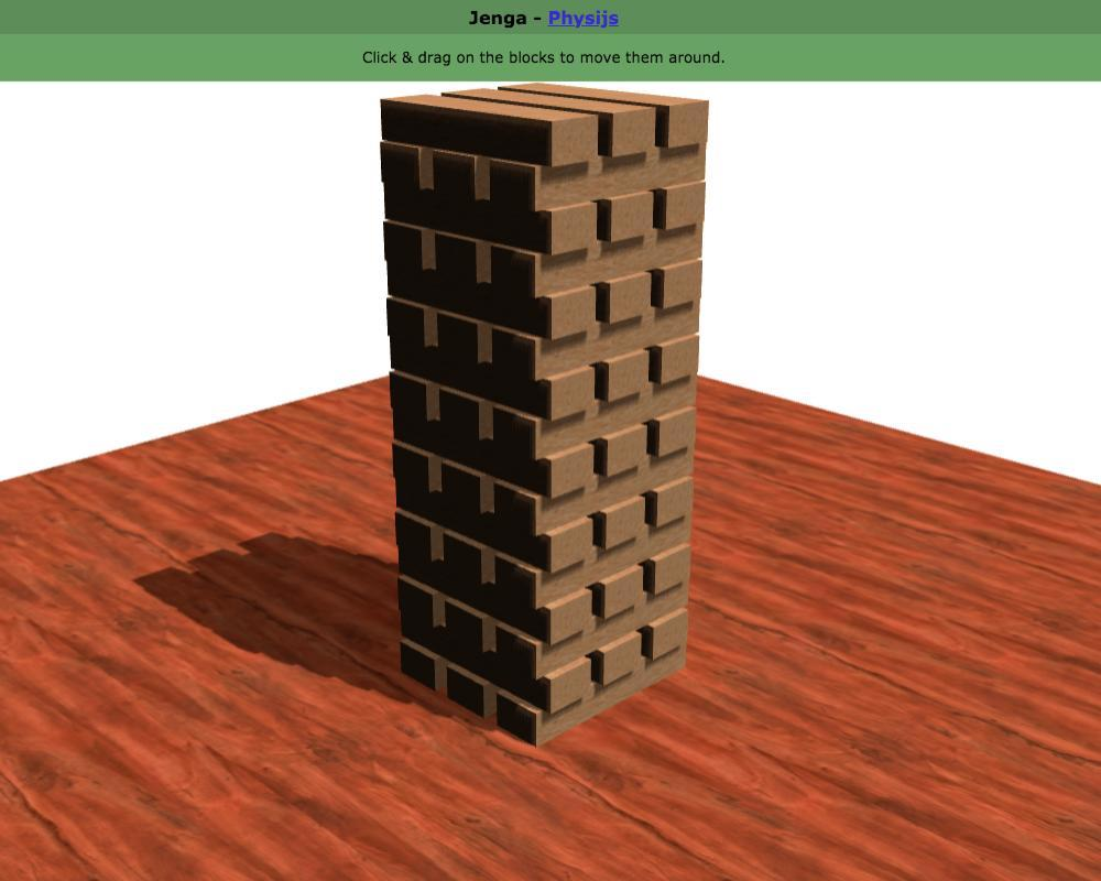 Jenga Virtual Online Video Game With Friends