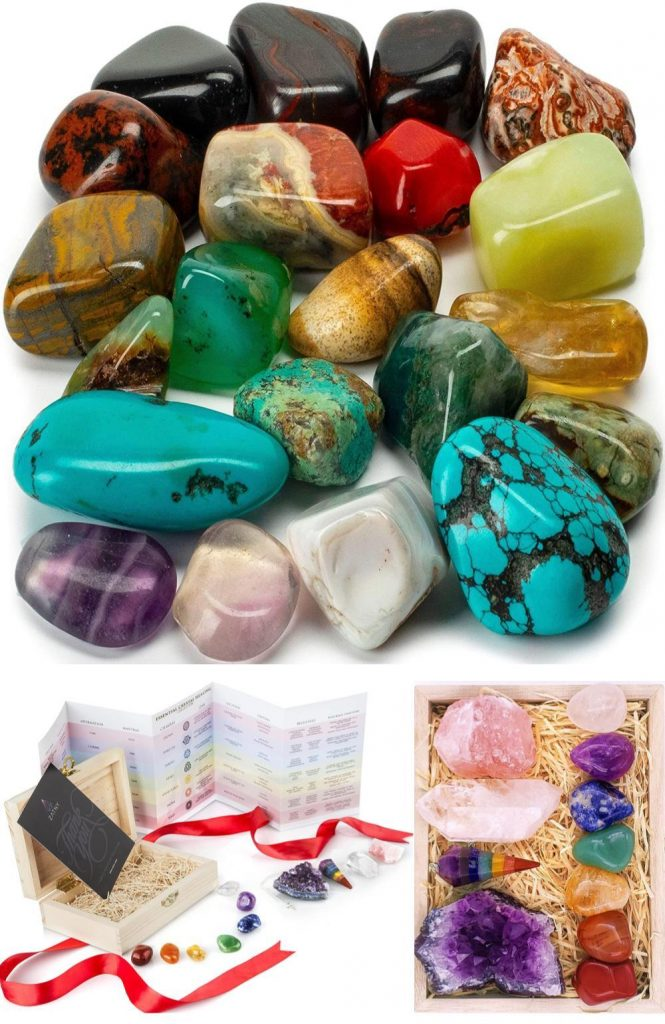 Parent Child Healing Crystals And Tumbling Stones Mindful Toddler And Kids Activity