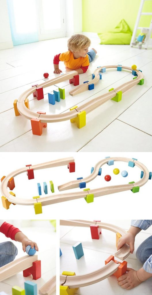 Haba My First Ball Track Wooden Marble Run