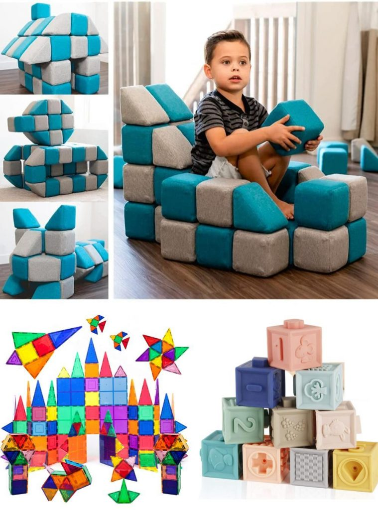Tegu Blocks Alternatives Silicone Baby Blocks And Magnetic Building Tiles