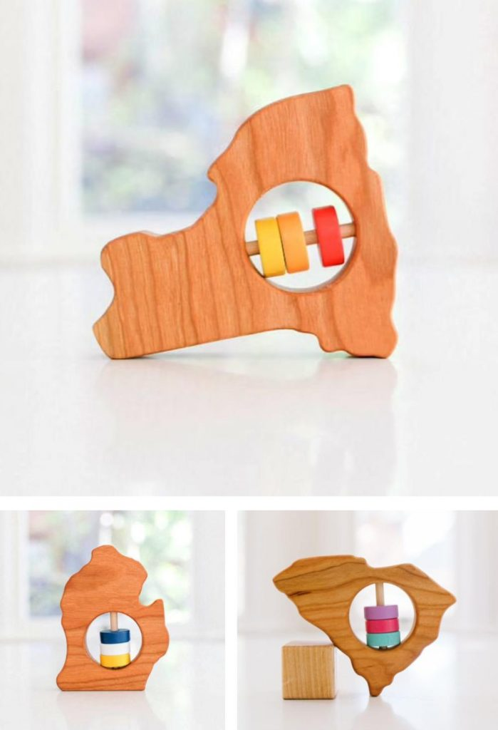 Bannor Toys Zero Waste Toy Rattle And Teether For Baby