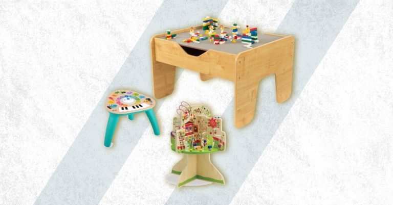 Best Wooden Activity Table For Toddler And Baby