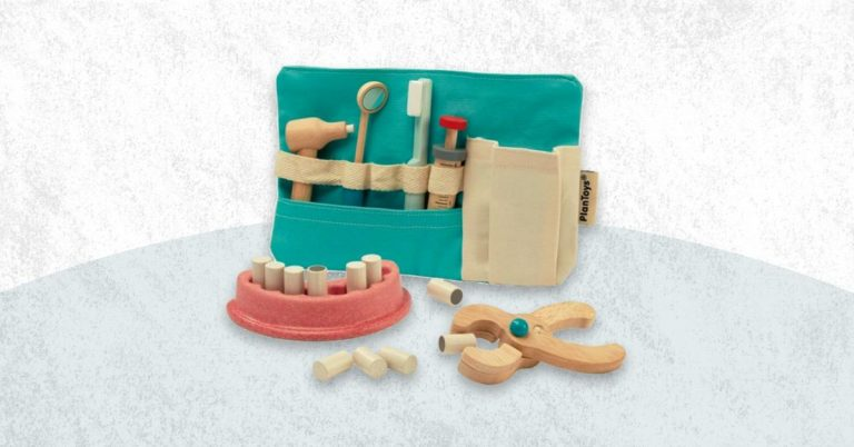 Best Wooden Dentist Toy Kits For Kids And Toddlers