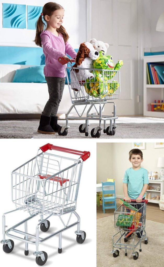 Melissa And Doug Sturdy Metal Frame Toy Shopping Cart Best Seller