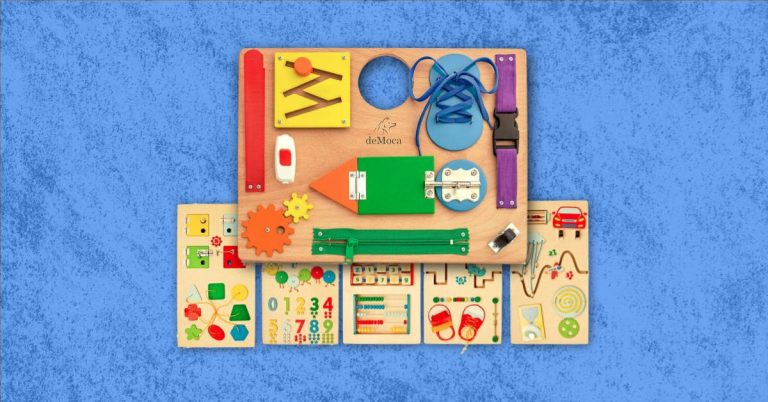 Best Wooden Busy Board For Toddlers And Babies