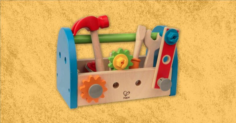 Best Wooden Tool Set And Tool Box For Toddlers And Kids
