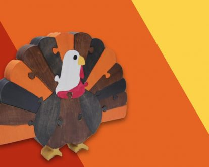 Best Thanksgiving-Themed Wooden Toys