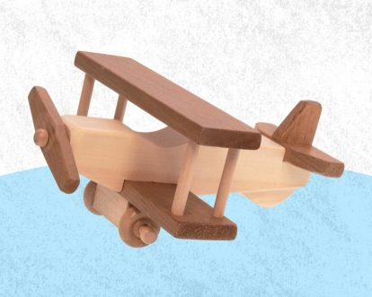 Best Wooden Airplane Toys For Toddlers Babies Kids