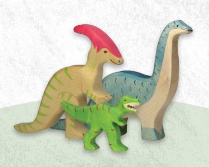 Best Wooden Dinosaur Toys For Kids And Toddlers