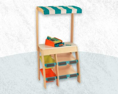Best Wooden Grocery Store Pretend Playsets For Kids