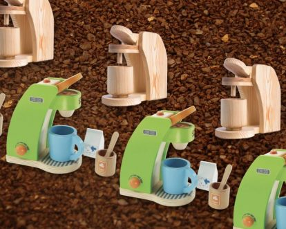Best Wooden Toy Coffee Makers And Espresso Machines