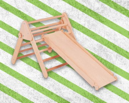 Pikler Triangle Ideas And Activities Besides Climbing